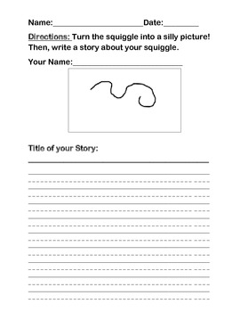 Squiggle Story Writing Fun!