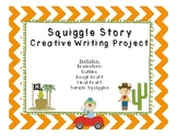 Squiggle Story Writing Process for Creative Writing