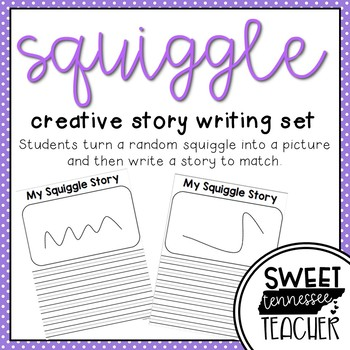 Squiggle Story Writing {a creative writing activity}