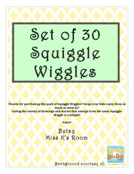 Squiggle Wiggles for Creative Writing