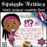 Squiggle Writing: Drawing + Writing = Creativity