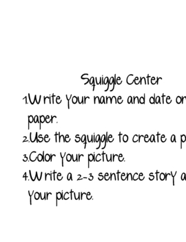 Squiggle Writing Center
