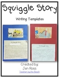 Squiggle Writing Templates Freebie