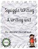 Squiggle Writing Unit