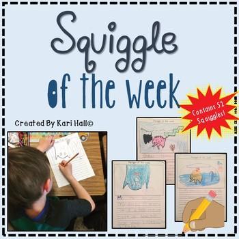 Squiggle of the Week -- Creative Writing fun for kids!