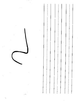 Squiggles - work on writing
