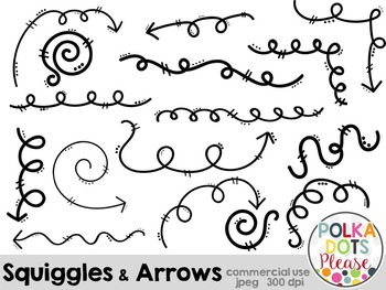 Squiggles and Arrows {Graphics for Commercial Use}