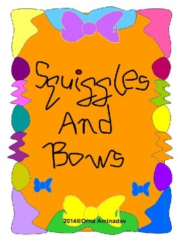 Squiggles and Bows Frames and Borders