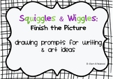 Squiggles and Wiggles: Finish the Picture Story Starters
