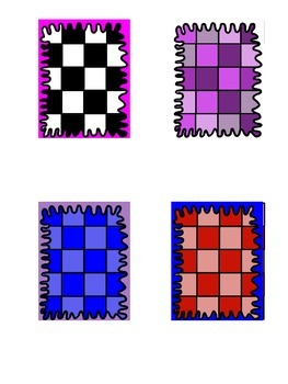 Squiggly Page Frames and Checkered Pages for your TPT Creations {29}