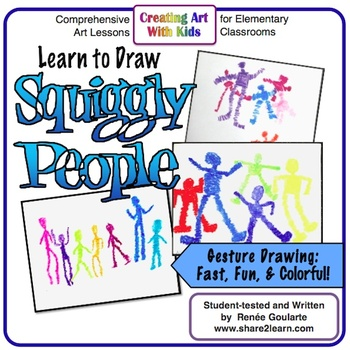Art Lesson - Squiggly People