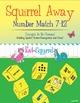 Squirrel Away 1-6 & 7-12 bundle! Subitizing game for struc