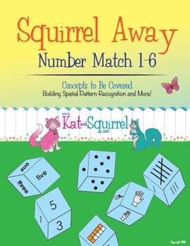 Squirrel Away - Subitizing Game for Structuring Numbers (1-6)
