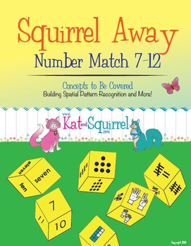 Squirrel Away - Subitizing Game for Structuring Numbers (7-12)