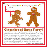Gingerbread Man Bump Games, Math Center, Morning Work, Christmas