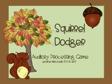 Squirrel Dodger! Auditory Processing Game