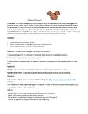 Squirrel Ethogram Webquest Handout for Biology Animal Ethogram