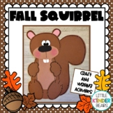 Squirrel Craft and Fall Writing Activities: