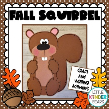 Squirrel Fall Craft