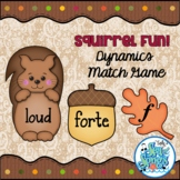 Squirrel Fun!  Dynamics Matching Game for Large Group or M