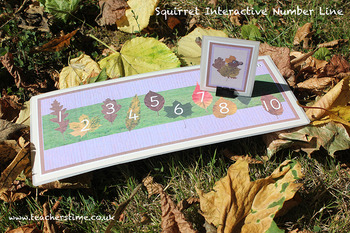 Squirrel Interactive Number Line