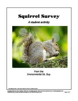 Squirrel Investigation - A student survey
