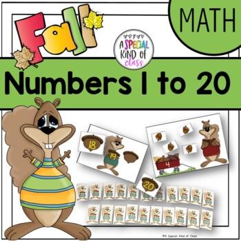 Fall Counting Math Activities