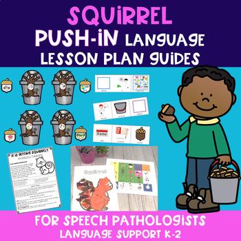 Squirrel PUSH-IN Language Lesson Plan Guides