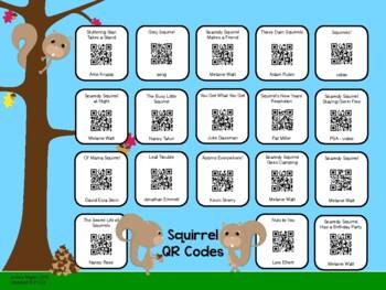 Squirrel QR Codes
