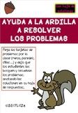 Squirrel Scoot First Grade -SPANISH version- Thanksgiving Math Centers