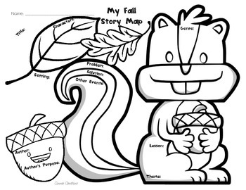 Squirrel Story Map (Fall)