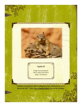 Squirrel Themed Nature Education Unit-Stage 2 (Magic Forest Academy)