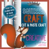 Squirrel Winter Craft