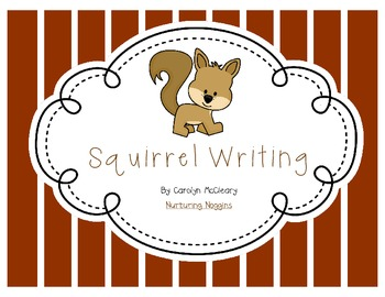 Squirrel Writing (with circle and tree maps)