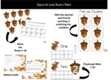 Squirrel and Acorn Math Bundle
