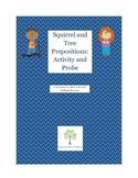 Squirrel and Tree Preposition Activity
