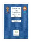 Squirrel and Tree Preposition Activity
