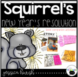 Squirrel's New Year's Resolution Activities