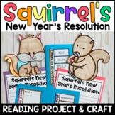 Squirrel's New Year's Resolution: An Interactive Book Project