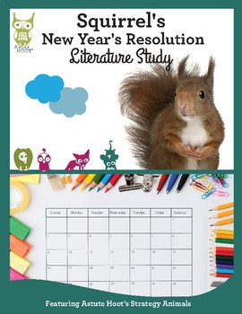 Squirrel's New Year's Resolution Book Study