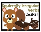 Squirrelly Irregular Verbs