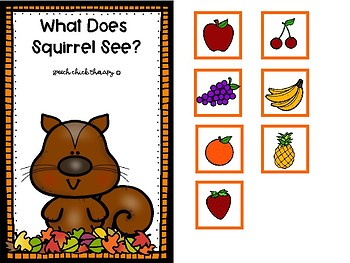 Squirrelly Vocabulary: An Interactive Activity Set for Speech Therapy