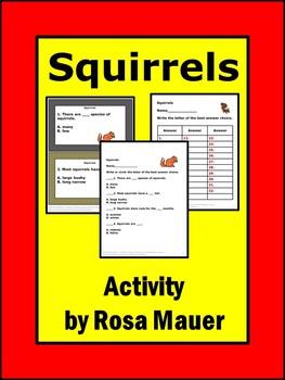 Squirrels Nature's Children