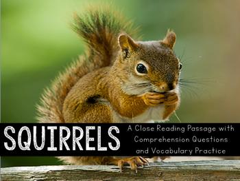 Squirrels Close Reading Practice