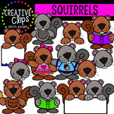 Squirrels {Creative Clips Clipart}