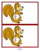 Squirrels Alphabet Match Center