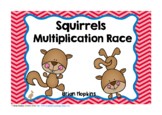 Squirrels Multiplication Race