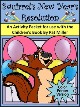 New Year's Reading Activities: Squirrel's New Year's Resol