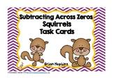 Squirrels Subtracting Across Zeroes