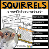 Squirrels Nonfiction Reading